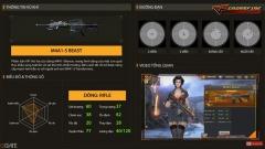 Crossfire Legends: Cận cảnh sức mạnh của quái thú M4A1-S Beast