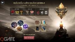Liên Quân Mobile: Giải đấu quốc tế Garena Throne of Glory 2017 mở bán vé từ ngày 8/7