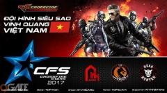 Crosfire Legends VN AllStar bắt đầu hành trình chinh phục giải đấu quốc tế CFS 2017
