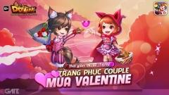 """Garena DDTank """"tung"""" sự kiện Valentine: Nhận vũ khí tình yêu và pet huyền thoại"""
