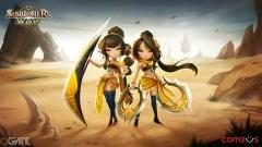 Hé lộ hai chị em song sinh đến từ sa mạc gây bão trong Summoners War