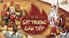 Garena Âm Dương Sư: Cách Tính Sát Thương Gián Tiếp & Tình Trạng Trúng Độc