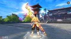 Đao Kiếm Vô Song cho người chơi đến 20 lựa chọn bộ phái vũ khí khi tham chiến