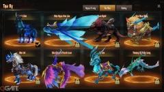 Đa dạng Đồng hành - Thú cưỡi, Võ Bá Thiên Hạ cho phép người chơi khai phá giới hạn của các tính năng vệ tinh