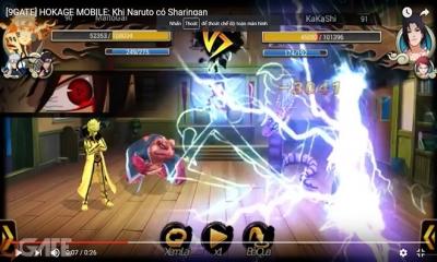 Hokage Mobile: Khi Naruto có Sharingan