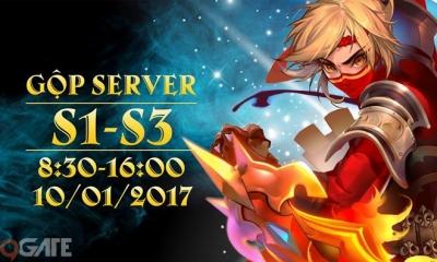 Điểm Tin Sáng 10/1: Sau 1 tháng ra mắt, 34 Chiến Ký vội vã gộp server