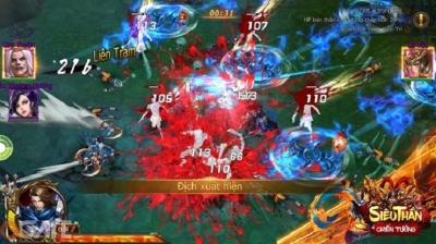 Siêu Thần Chiến Tướng: Game chặt chém máu lửa trình làng vào tháng 04/2018