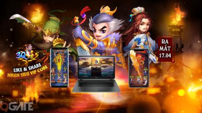 3Q H5: Game Tam Quốc đấu thẻ tướng chơi đa nền tảng cập bến Việt Nam