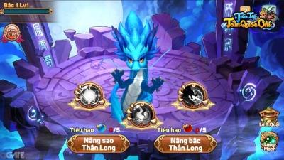 Tiểu Tiểu Tam Quốc Chí: Tính năng Nuôi Thần Long