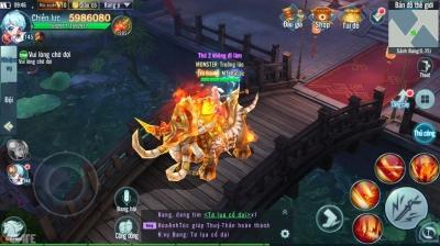 Nhất Kiếm Giang Hồ Mobile: Đây là pet hay tọa kỵ?