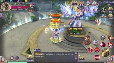 Lục Địa Hoàn Mỹ: Guild Chiến Liên Server