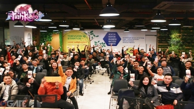 Tình Kiếm 3D Mobile: Cộng đồng game thủ kiếm hiệp quần tụ tại buổi Big Offline Hồ Chí Minh
