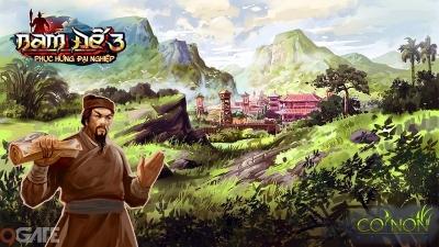 Nam Đế 3: Game sử Việt công bố mở bản thử nghiệm