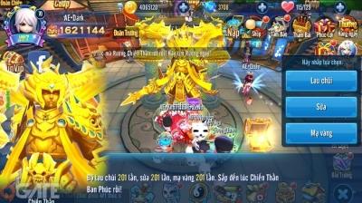 Thần Long 3Q Update: Gia tăng sức mạnh nhân vật – Khai mở tính năng thần khí của nhân vật Main