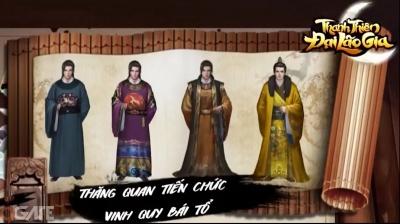 Thanh Thiên Đại Lão Gia: Tựa game đưa người chơi vào chốn quan trường thời phong kiến