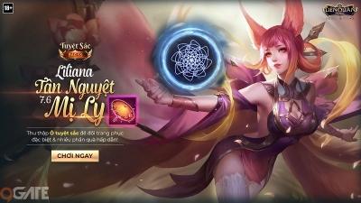 Liên Quân Mobile: Liliana Tân Nguyệt Mỵ Li - Một mình cân 2 anh