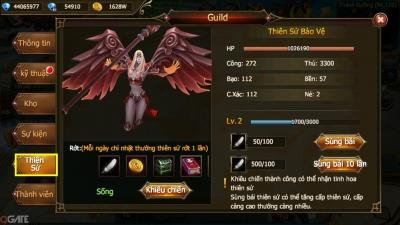 Thánh Chiến 3D: Hệ Thống Guild