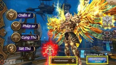 Thánh Chiến 3D: Hướng dẫn tạo nhân vật