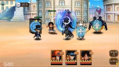 Kho Báu Huyền Thoại: Luffy và những người bạn