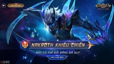 Liên Quân Mobile: Garena ID tặng FREE Nakroth và Triệu Vân AIC dù đội nhà