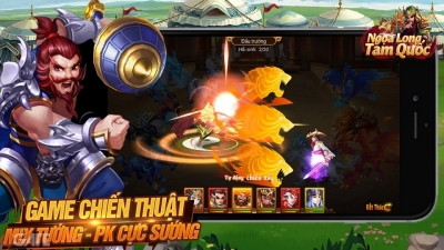 Ngọa Long Tam Quốc: Game chiến thuật Mix tướng PK sẽ ra mắt trong tháng 7