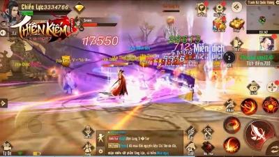 Thiên Kiếm Mobile: Siêu Phẩm PK vạn người chơi