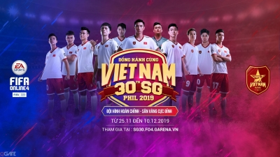 FIFA Online 4 tặng miễn phí cầu thủ Việt Nam cho game thủ đồng hành cùng tuyển Việt Nam tại SEA Games 30