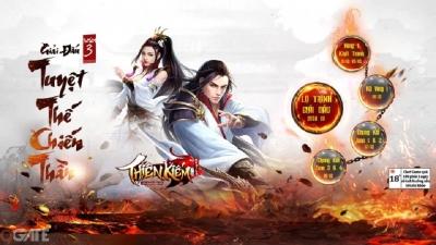 Thiên Kiếm Mobile: Giải đấu Tuyệt Thế Chiến Thần mùa III chính thức khởi tranh