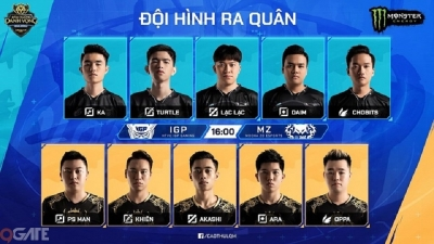 HTVC IGP Gaming xuất sắc lên ngôi vô địch ESL Vietnam Championship
