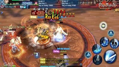 """Mới đầu năm, người chơi đã tranh cãi sôi nổi xoay quanh việc Võ Lâm Truyền Kỳ Mobile sắp thành game """"sinh tồn"""""""