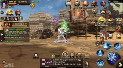Chiến Thần 3D chính thức ra mắt: Mở ra một thời đại mới cho dòng game nhập vai MMORPG