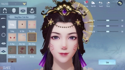 Tỷ Muội Hoàng Cung: Game ngôn tình - Đồ họa 3D đầu tiên tại Việt Nam