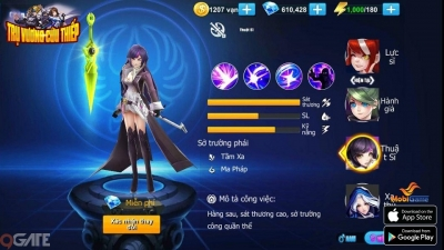 """Game mobile Trụ Vương Cứu Thiếp chính thức ra mắt tặng 300 VIPCODE """"Thần Tướng"""""""