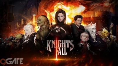 Knights Fall chính thức mở cửa Báo danh sớm với Giftcode trị giá 1 triệu đồng