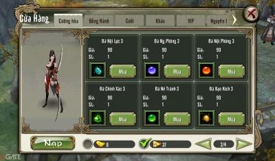 Thiên Long Bát Bộ 3D Mobile: Mua sắm hiệu quả với 500 KNB từ Giftcode