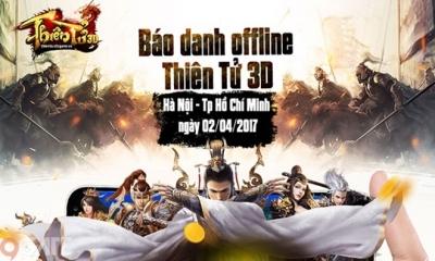 Thiên Tử 3D sẽ có buổi Offline hoành tráng khi được NPH VTC Game buff mạnh tay