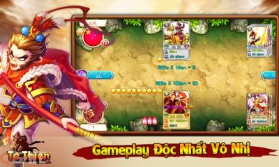 Tề Thiên Mobile: Hệ thống thẻ bài Hoàng Kim 5 Sao