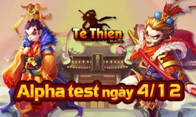 Tề Thiên Mobile chính thức Alpha Test, tặng game thủ 30,000 KNB