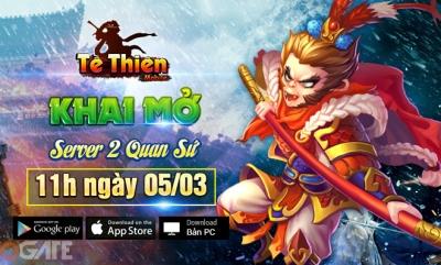 Quá tải người chơi, Tề Thiên Mobile tặng Giftcode nhân dịp ra mắt S2 - Quan Sứ
