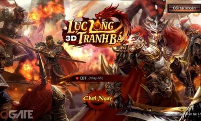 Lục Long Tranh Bá 3D: Video trải nghiệm game