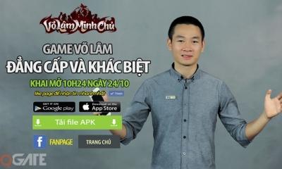 Võ Lâm Minh Chủ mở cửa Closed Beta 'phá đảo' làng game Việt vào 24/10 tới