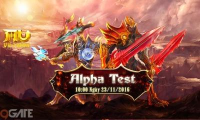 MU Việt Nam cho tải game, bắt đầu chương trình Alpha Test ngày 23/11