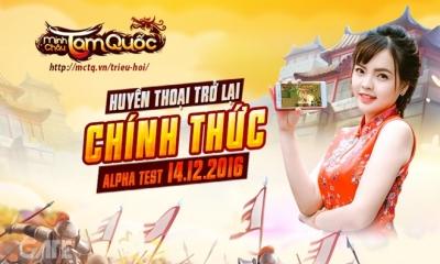 Minh Châu Tam Quốc 3D – Game mobile 'thả thính' bá đạo nhất 2016 sẽ Alpha Test ngày 14/12