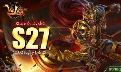 Võ Lâm Returns tặng game thủ 500 GiftCode hỗ trợ đua Top server mới