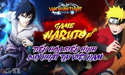 Vua Nhẫn Thuật - Siêu phẩm Naruto tiến hóa biến hình đầu tiên đã về Việt Nam