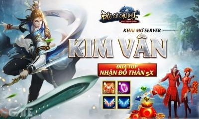 """Ra mắt máy chủ S97 Kim Vân, Độc Cô Cầu Bại tặng ngay 700 Giftcode siêu """"hot"""""""
