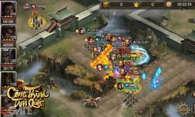 Công Thành Tam Quốc - Game mobile có đề tài Tam Quốc sắp ra mắt game thủ Việt