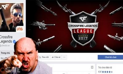 Crossfire Legends: Game thủ tức điên, dọa đánh Admin trả lời fanpage Facebook