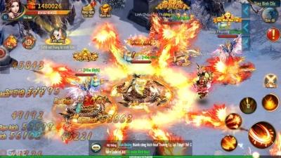 Kiếm Vương Chi Mộng: Trải nghiệm game qua hình ảnh