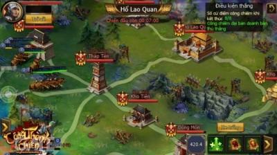 Công Thành Chiến Mobile: Game Tam Quốc SLG cổ điển sẽ được phát hành tại Việt Nam trong tháng 7